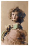 Jolie Fillette, Portrait, éd. CLCo N° 3246/4, Ajoutis De Peinture Sur Col - Portraits