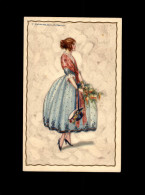 ILLUSTRATEURS - TRES JOLIE CARTE Illustrée Par Corbella - Femme - Corbella, T.