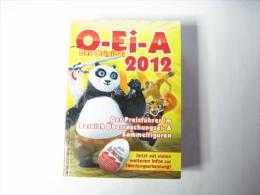KINDER SURPRISE CATALOGUE O-Ei-A 2012 - Kinder & Diddl