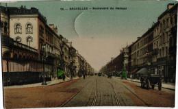 BRABANT 7 CP Brussel Gare Lux 1902 Gare Nord Nels1n°294 Bassin Entrepôt Nels1n°105 Bld Hainaut Marché Poisson Pte Loui - Unclassified
