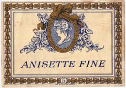 Etiquette Anisette Ancienne - Imprimeur Plouviez - Other