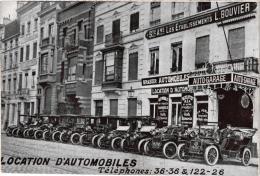BRABANT 1 CP BrusseL  Auto Garage    Les Etablissements  L Bouvier   Tarif 1912Vopitures Limousines - België