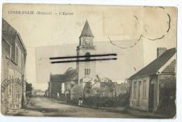 CPA - Condé Folie - L'Eglise - France