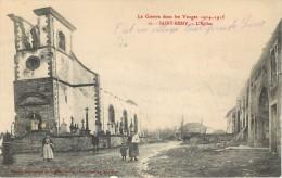SAINT REMY . L'EGLISE . LA GUERRE DANS LES VOSGES 1914 -1915 . - Frankreich