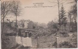 Orne :  CAHAN  ; Le  Pont  Sur Le  Noireau  Et Village D Ela Planche ( écrite  Sur  Place ) - Non Classificati