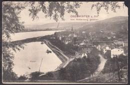 Remagen Oberwinter Vom Heldenberg Gesehen 23-6-1910   , 2 X Scans  For Condition. ( Originalscan !!! ) - Remagen