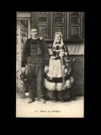 29 - CONCARNEAU - LANRIEC - Costume - Coiffe - Mariés - Concarneau