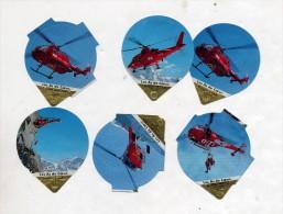 opercule  de creme theme helicoptere