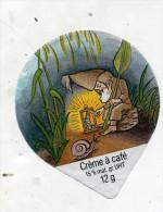 opercule  de creme theme escargot veilleur