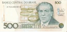 BILLETE DE BRASIL DE 500 CRUZADOS DEL AÑO 1986  (BANKNOTE) SIN CIRCULAR-UNCIRCULATED - Brazil