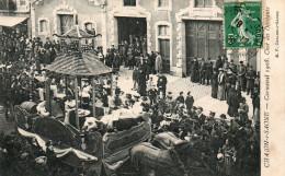 71 CHALON SUR SAONE - Carnaval 1908 - Char Des Débitants - Chalon Sur Saone