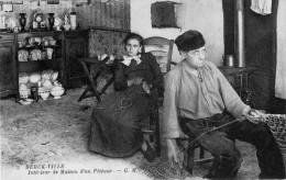 BERCK VILLE  -  Intérieur De Maison De Pêcheur - Berck