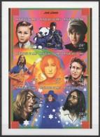Mali (1997) Yv. 957/65  /  Musique - Musical Instrument - Music - Beatles - John Lennon - Música