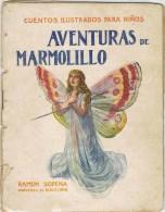 10128. Libro Cuento Ilustrado AVENTURAS De MARMOLILLO, Editorial Sopena Barcelona - Libros Infantiles Y Juveniles
