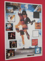 AC DC  AC-DC  Cinéma Célébrité Artiste Star Vedette International Film CHANTEUR MUSICIEN MUSIQUE   Célèbre - Sänger Und Musikanten