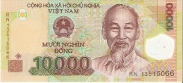 BILLETE DE VIETNAM DE 10000 DONG DE POLIMERO  (BANKNOTE) SIN CIRCULAR-UNCIRCULATED - Vietnam