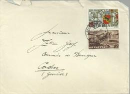 SUIZA LAUSANNE 1941 CC SELLO 750 JAHRE BERN CABALLO ARADO AGRICULTURA - Agriculture