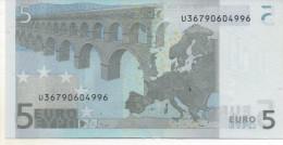 5€  France L030F4Trichet Non Circulé - 5 Euro