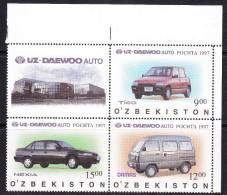 UZB-12UZBEKISTAN – 1997 TRANSPORT - Uzbekistan