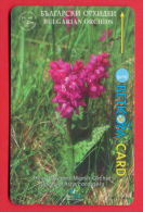 H27 / BETKOM - Bulgarije - FLOWERS ORCHIDS , SOCIETY FOR THE PROTECTION OF BIRDS Phonecards  Bulgaria Bulgarie - Bulgaria
