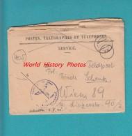 Enveloppe Ancienne Et Courrier - écrite De WARSCHAU / VARSOVIE - 1941 - Voir Cachet - IIIe Reich Pologne - Allemagne