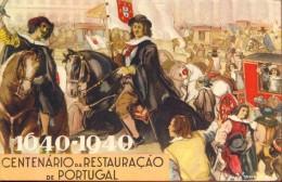CP - 1640 - 1940 Restauraçao De Portugal - Stoet - Illustr.Sousa - Evénements