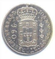 960 Réis Brésil / Brasil 1815 Argent / Silver - Refrappe / Restrike - Brazilië