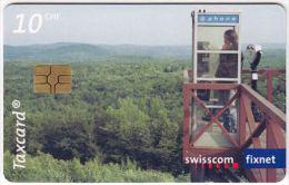 SWITZERLAND A-634 Chip Swisscom - Communication, Phone booth - used
