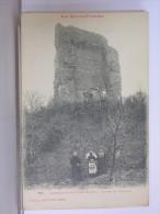 CASTELNAU RIVIERE BASSE (65) - RUINES DU CHATEAU - ANIMEE - 1922