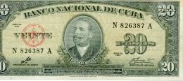 20 pesos 1960 USAGE mais bel aspect