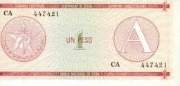 1 pesos s�rie A NEUF