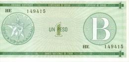 1 pesos s�rie B NEUF