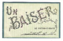 BELGIQUE  /  Un  Baiser  De  VIRTON - SAINT-MARD  ( Fantaisie Avec Paillettes ) - Virton