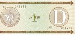 1 peso s�rie D NEUF