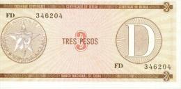 3 pesos s�rie D NEUF