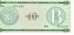 10 pesos s�rie B NEUF
