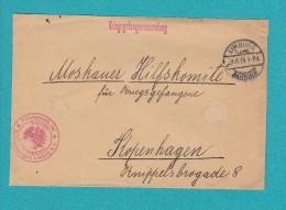 Enveloppe Ancienne - LIMBURG - Envoi Du Camp De Prisonnier De Guerre - 1915 - Voir Cachet Gepruft - WW1 - 1914-18