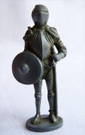 FIGURINE KINDER  METAL CHEVALIER EN ARMURE ITALIEN 3 80's -   Rûstungen Italien - Metal Figurines
