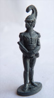 FIGURINE KINDER  METAL SOLDATS NAPOLEONIEN 1804-1815 5 PETITE TAILLE 80's - CASSE - Figurines En Métal