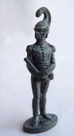 FIGURINE KINDER  METAL SOLDATS NAPOLEONIEN 1804-1815 5 PETITE TAILLE 80's - CASSE - Metal Figurines