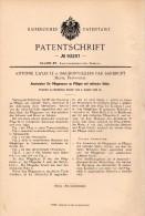 Original Patent - A. Cayatte Dans Baudonvilliers Par Sandrupt , 1896 , Couteaux Pour Charrue , Agriculture , Meuse !!! - Frankrijk