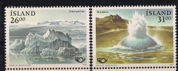 1991 Island   Mi. 747-8  **MNH Norden Tourismus - Europese Gedachte