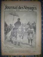 LE JOURNAL DES VOYAGES 12/01/1913 SOUDAN CHEF ETAT PERSE OPIUM TRAVERSEE SUISSE BALLON RUSSIE EXIL - Livres, BD, Revues