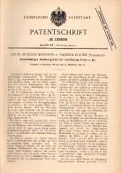 Original Patent -  L.A. Bonnefis Dans Valence D'Agen , 1898 , Graisse Tasse , Génie Mécanique , Tarn-et-Garonne !!! - Historische Dokumente