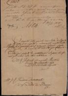 RARE !! 1870 VENEZIA -  LETTERA DEL TRIBUNALE COMMERCIALE MARITIMMO - Sign. PIETRO BRAZZA !!! - Documents Historiques