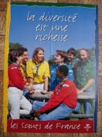 Scoutisme Affiches - Affichettes - Scouts De France - - Scouting