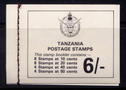 TANZANIA, BOOKLET, NO.'S 161-164 , MNH - Tanzania (1964-...)