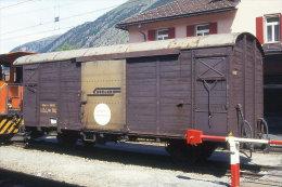 004-795) Dia (color Slide) Schweiz RhB - Gbk-v 5602 - Trains