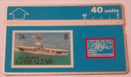 Gibraltar N. 17 - HMAS Ark Royal - 306A - 40u - Gibraltar