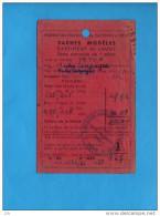 9912 - Certificat De Jauge Pour Yachts Modéles 1 Mètre - Bateau De Bassin, Voilier, Maquette - Vieux Papiers
